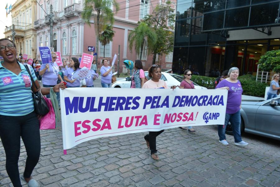 08 de Março, Dia Internacional da Mulher - Pelotas