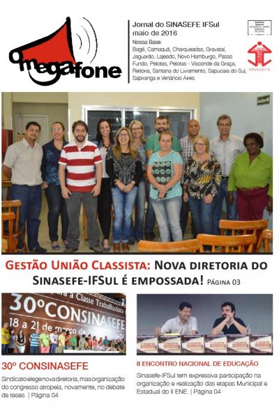 Megafone Maio | 05/2016